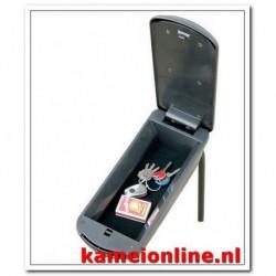 Armsteun Kamei Peugeot 107 Stof premium grijs 2005-2009