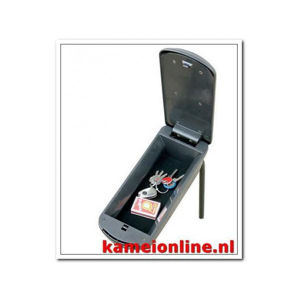 Armsteun Kamei Skoda Fabia type 2 Stof premium grijs 2007-2014