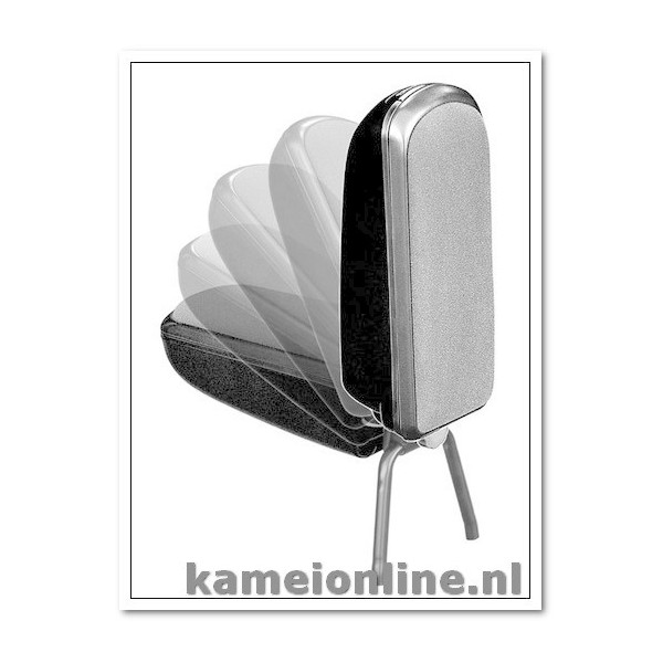Armsteun Kamei Skoda Fabia type 2 (5J) stof Premium zwart 2007-2012