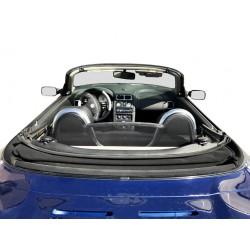 Zijwindscherm voorportier Ford Fiesta 3-dr hatchback (2008-2017) zwart
